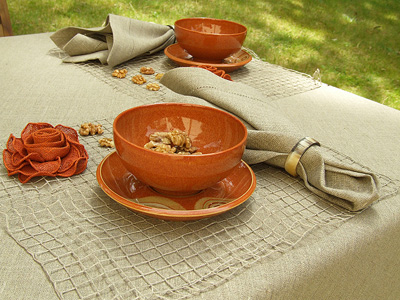 Una Natural Linen Collection