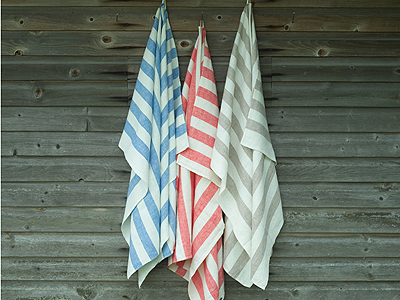 Linen Bath Towels Philippe Collection