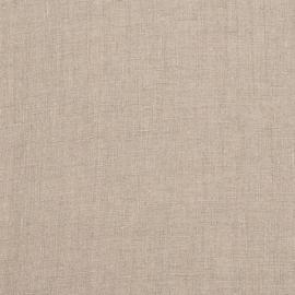 Linen Fabric Sample Plain Natural