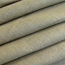 Natural Plain Linen Fabric Sample