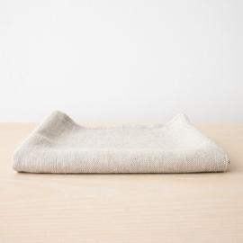 Linen Bath Towel Beige Twill