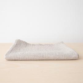 Natural Linen Cotton Mix Bath Towel Wafer