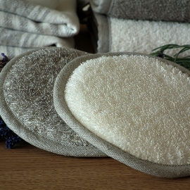 Natural Linen Body Pad Terry