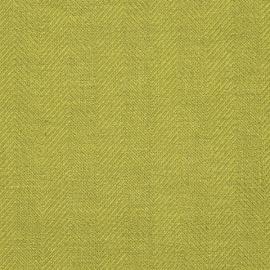 Rain Forest Green Linen Fabric Sample Emilia