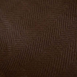 Fabric Chocolate Brown Linen Emilia