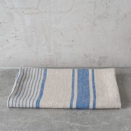 Bath Towel Blue Linen Provance