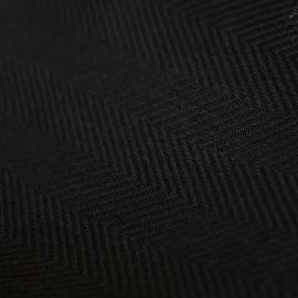 Fabric Black Linen Emilia