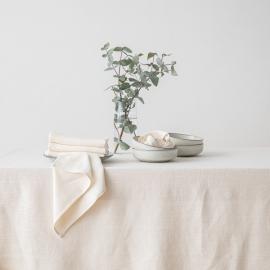 Cream Linen Napkin Lara