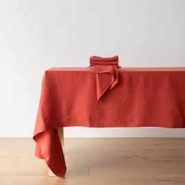 Orange Linen Napkin Lara