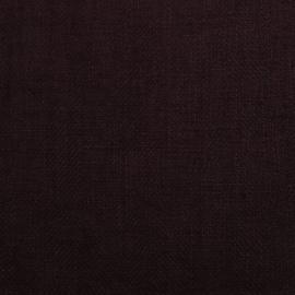 Aubergine Linen Fabric Lara Prewashed