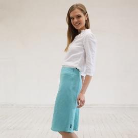 Linen Shirt White  Sofie