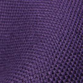 Aubergine Linen Fabric Rustico