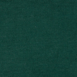 Dark Green Linen Fabric Rustico