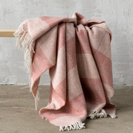 Wool Throw Canyon Rose Luigi
