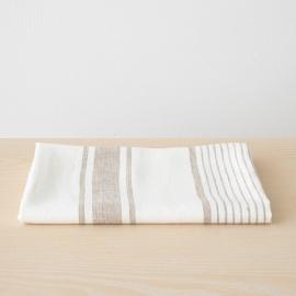 Bath Towel Beige Linen Tuscany