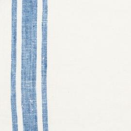 Fabric Blue Linen Tuscany