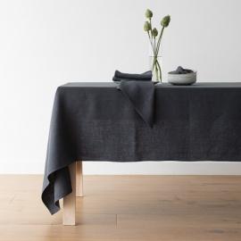 Linen Tablecloth Teal Lara