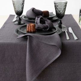 Linen Placemat Grey Lara