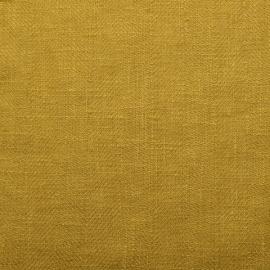 Citrine Linen Fabric Sample Lara