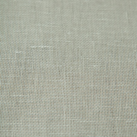 Linen Fabric Off White Twist Open