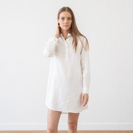 Indigo Linen Night Shirt Alma