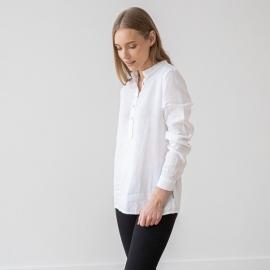 White Linen Shirt Toby