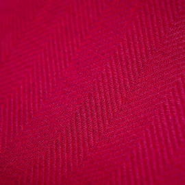 Linen Fabric Herringbone Emilia Pink