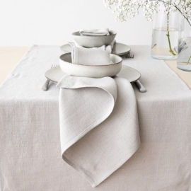 Tablecloth Silver Linen Lara