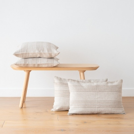 Natural Linen Decor Pillow Case Linum