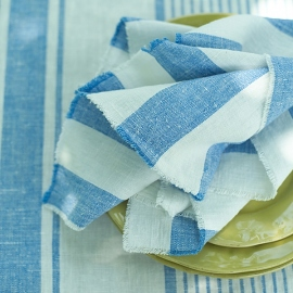 Chambray Linen Bath Towel Lara