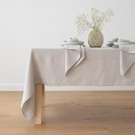 Tablecloth Silver Linen Lara
