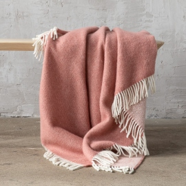 Aqua Wool Throw Roberto