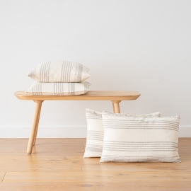 Cream Linen Decor Pillow Case Linum