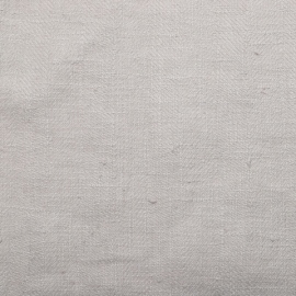 Silver Linen Fabric Sample Lara