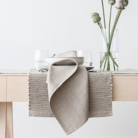 Linen Placemat Natural Lara