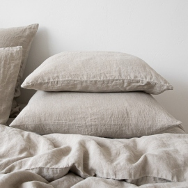 Natural Washed Bed Linen Pillow Case