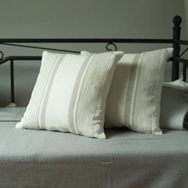 Cream Linen Decor Pillow Case Linum
