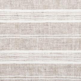 Fabric Sample Birch Linen Multistripe