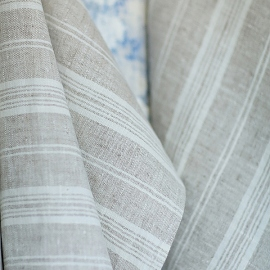 Fabric Birch Linen Multistripe