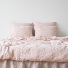 Rosa Stone Washed Bed Linen Duvet