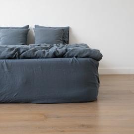 Blue Stone Washed Bed Linen Duvet
