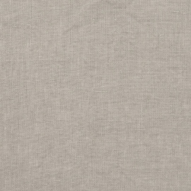 Taupe Linen Fabric Stone Washed