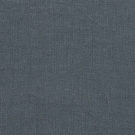 Linen Fabric Sample Blue Stone Washed