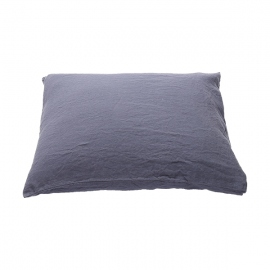 Blueberry Washed Bed Linen Pillow Case