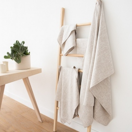Bath Towel Birch Linen Francesca