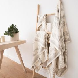 Linen Towels Set Cream Linum