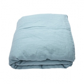 Stone Blue Stone Washed Bed Linen Duvet
