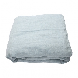 Stone Blue Stone Washed Rhomb Bed Linen Duvet