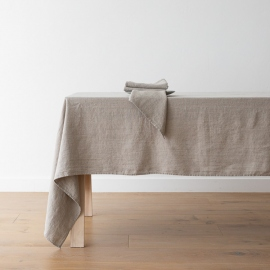 Linen Tablecloth Natural Terra