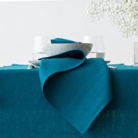 Linen Napkin Marine Blue Lara